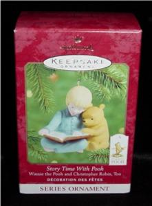 Storytime with Pooh Hallmark Ornament (Image1)