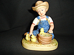 Homco Denim Days Figurine (Image1)