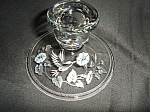Avon Hummingbird Candle Holder