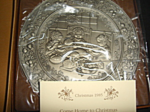 Hallmark Little Gallery Pewter Plate
