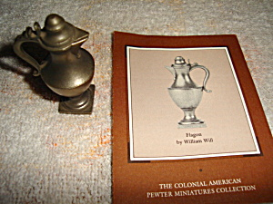 Franklin Mint Pewter Flagon (Image1)