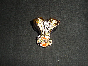 Motorcycle Harley Davidson Engine Pin