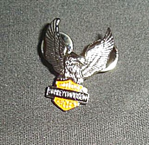 Harley Davidson Eagle Pin