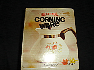 Corning  Wild Flower Tea Pot (Image1)