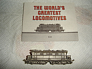 Franklin Mint  Pewter Train (Image1)