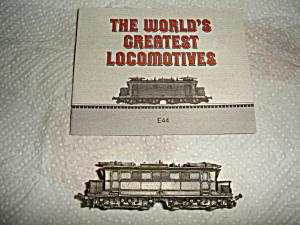 Franklin Mint  Pewter Train (Image1)