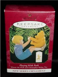 Playing With Pooh Hallmark Ornament (Image1)