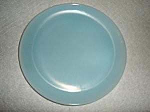 Fire King  Blue Bread & Butter Plate (Image1)