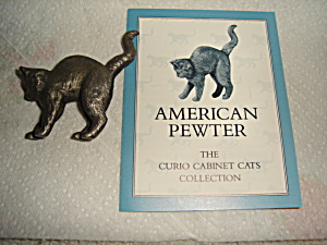 Franklin Mint Curio Cat