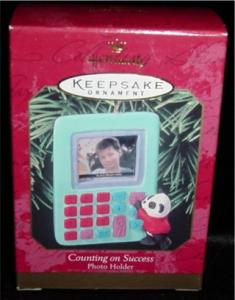 Counting on Success Hallmark Ornament (Image1)
