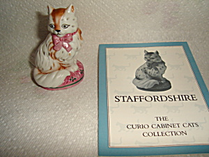 Franklin Mint Curio Cat (Image1)