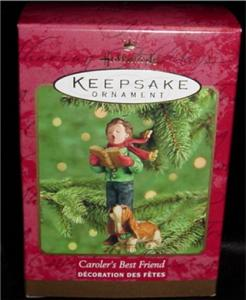 Caroler's Best Friend Hallmark Ornament (Image1)