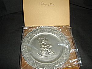 Hallmark Little Gallery 1981 Plate (Image1)
