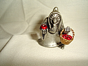 Disney Snow White Pewter Figurine
