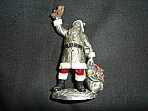Hudson Pewter Villagers Santa (Image1)