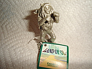 Wizard Of Oz Comstock Pewter Cowardly Lion