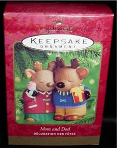 Mom and Dad 2000 Hallmark Ornament (Image1)