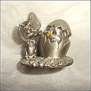 Hallmark Pewter Cheddar Mouse