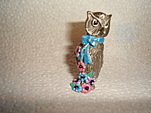Gallo Pewter Owl (Image1)