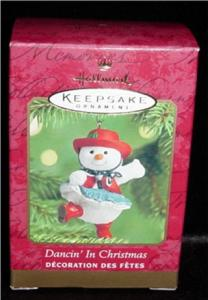 Dancing in Christmas Hallmark Ornament (Image1)