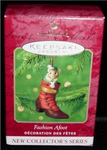 Fashion Afoot Hallmark 2000 Ornament (Image1)