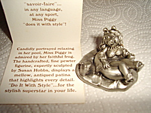 Hallmark Little Gallery Miss Piggy & Kermit