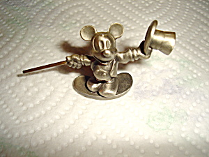 Hudson Pewter Mickey Mouse Figurine
