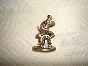 Hudson Steam Boat Willie Pewter Figurine