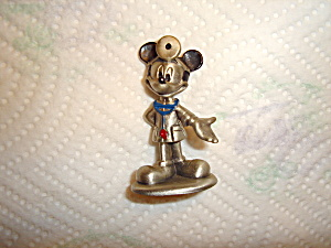 Hudson Mickey Doctor Pewter Figurine