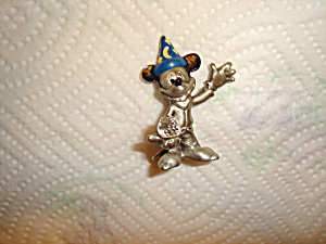 Hudson Mickey Mouse Pewter Figurine