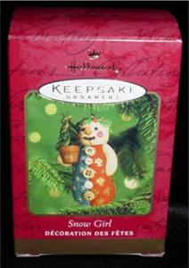 Snow Girl Hallmark Ornament (Image1)
