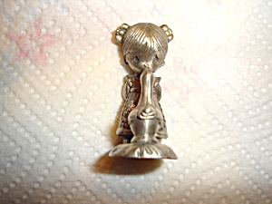 Precious Moments Pewter Figurine