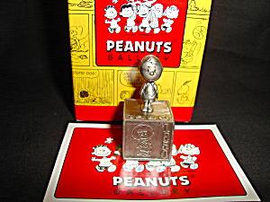Hallmark Peanuts Gallery Pewter Figurine (Image1)