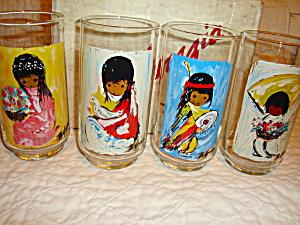 De Grazia Drinking Glasses Set of 4 (Image1)