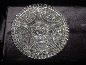 Anchor Hocking 6 Part Relish Dish
