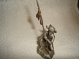 Hudson Pewter Blackfoot Warrior