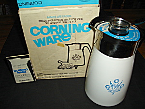 Corning Ware 10 Cup Stove Top Coffee Pot
