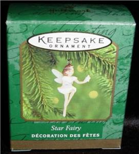 Star Fairy Miniature Hallmark Ornament (Image1)