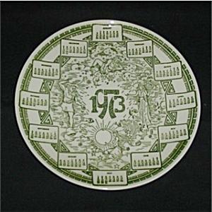 1973 Calendar Plate (Image1)