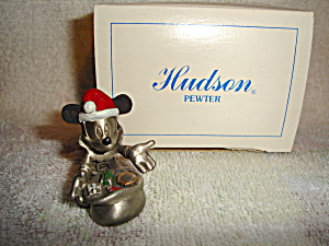 Hudson Disney Mickey Pewter Figurine