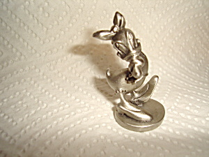 Hudson Disney Pewter Daisy Duck Figurine