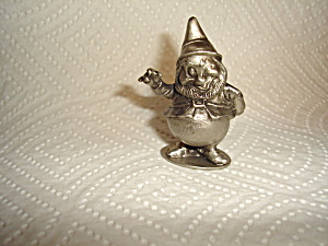 Hudson Disney Pewter Happy Dwarf Figurine
