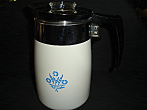 Corning Ware 6 Cup Stove Top Coffee Pot