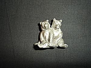 Hudson Pewter Noah's Ark Bears (Image1)