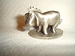 Schmid Pewter Eeyore Figurine (Image1)