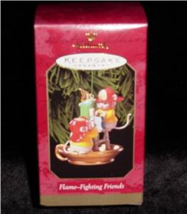 Flame Fighting Friends Hallmark Ornament (Image1)