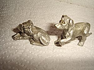 Hudson Pewter Noah's Ark  Dog's (Image1)