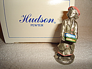 Hudson Pewter Villagers Figurine
