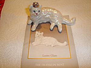 Franklin Mint Curio Cat  (Image1)