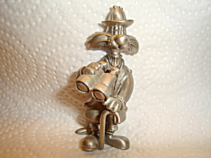 Warner Bros. Sylvester Pewter Figurine